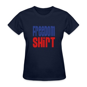 Women's Lightweight T-Shirt, FREEDOM SHIRT  - Women's T-Shirt