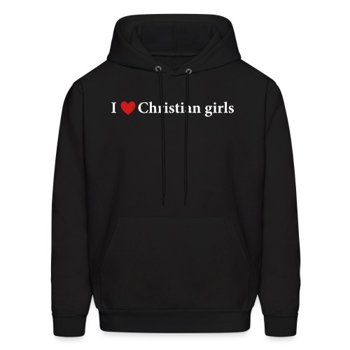I Love Christian Girls - Men's Hoodie