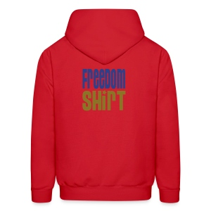 Hooded Sweatshirt, FREEDOM SHIRT - Men's Hoodie