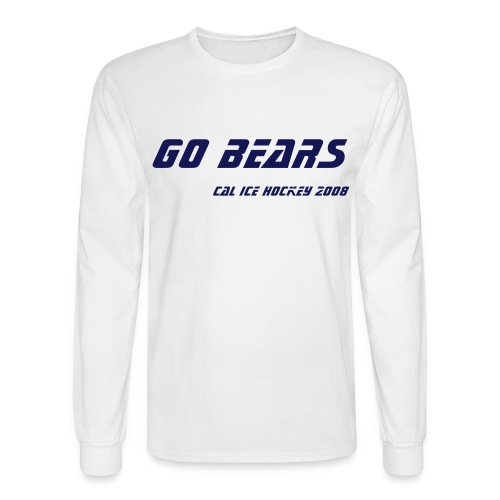 GO BEARS long sleeve tee - Men's Long Sleeve T-Shirt