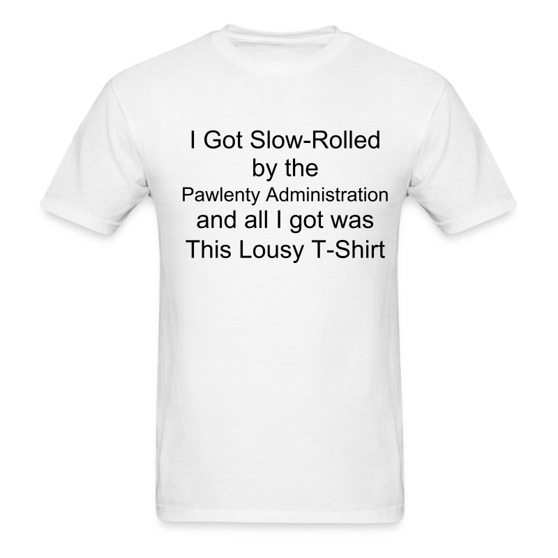 Slow-Rolled Light T, Take 2 - Men's T-Shirt