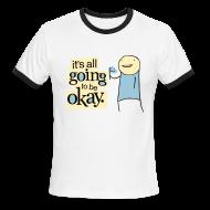 T-Shirts ~ Men's Ringer T-Shirt ~ IAG2BOK ringer tee