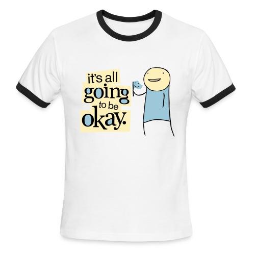 IAG2BOK ringer tee - Men's Ringer T-Shirt