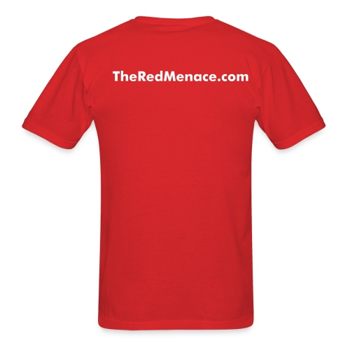 NEW! Red Menace Shirt - Men's T-Shirt