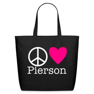Peace Love Pierson - Eco-Friendly Cotton Tote