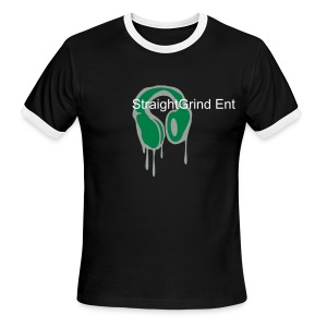 Straightgrind (in ya bag wear - Men's Ringer T-Shirt