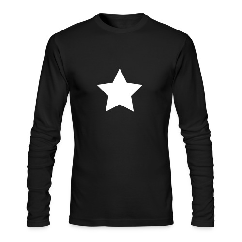 Jon Oz Star Shirt - Men's Long Sleeve T-Shirt by Next Level