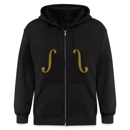 hoodie Gold - Men's Zip Hoodie
