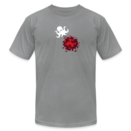 [octolove] - Men's T-Shirt by American Apparel