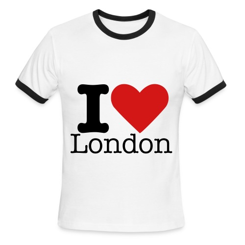London T-shirt - Men's Ringer T-Shirt