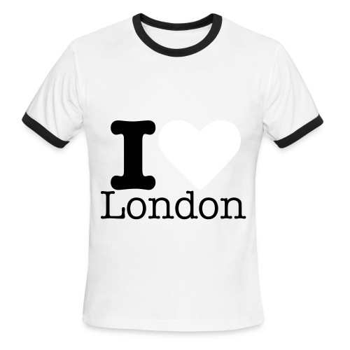 London Red T-shirt  - Men's Ringer T-Shirt