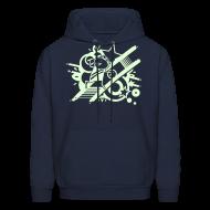 Hoodies ~ Men's Hoodie ~ Charles GLOW hoodie!