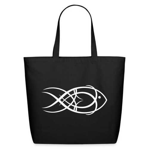 Fish Tribal - Eco-Friendly Cotton Tote