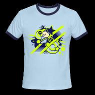 T-Shirts ~ Men's Ringer T-Shirt ~ Charles the Raver ringer tee