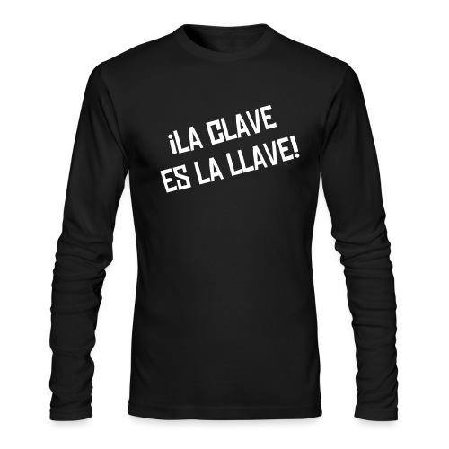 Clave - Men's Long Sleeve T-Shirt by Next Level