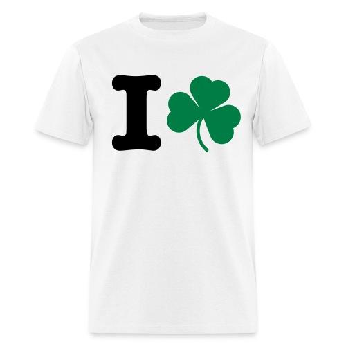 I Shamrock - Men's T-Shirt