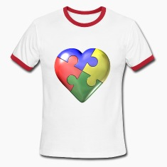 Autism awarness puzzle heart