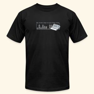 Handheld1, silverprint - Men's Fine Jersey T-Shirt