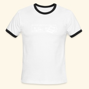 Handheld1 - Men's Ringer T-Shirt