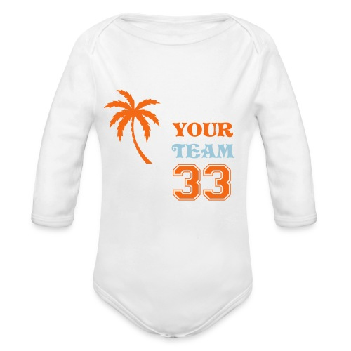 MY PERSONALIZED PRODUCT - Organic Long Sleeve Baby Bodysuit
