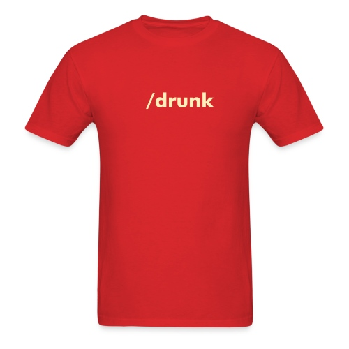 SLASHIE /drunk Tee - Men's T-Shirt