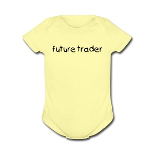 Future Trader - Short Sleeve Baby Bodysuit