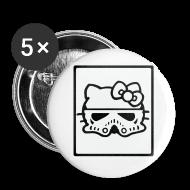 Buttons ~ Small Buttons ~ Kitty Stormtrooper Helmet Buttons