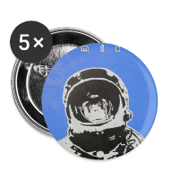 Buttons ~ Large Buttons ~ Space Chimp Buttons