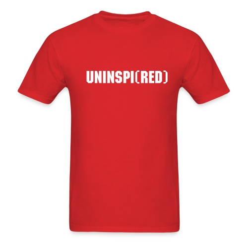 UNINSPI(RED) T-Shirt - Men's T-Shirt
