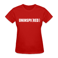 T-Shirts ~ Women's T-Shirt ~ UNINSPI(RED) T-Shirt