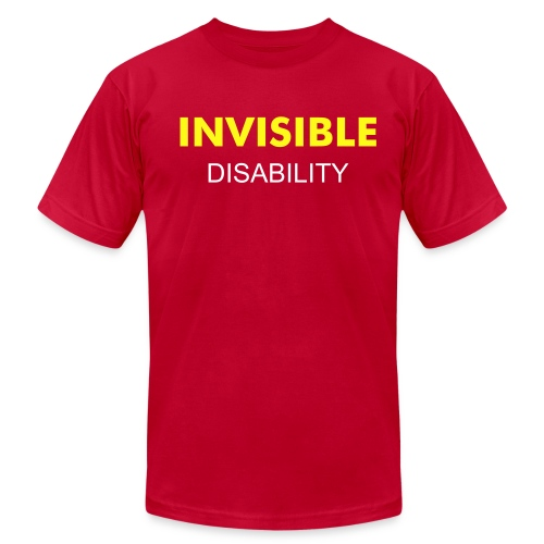 INVISIBLE YELLOW - Men's Fine Jersey T-Shirt