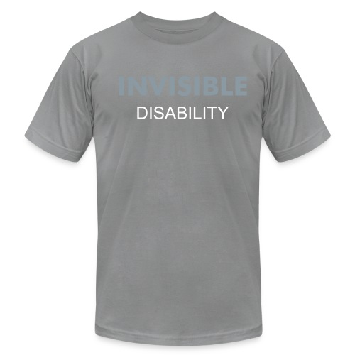 INVISIBLE GREY - Men's Fine Jersey T-Shirt