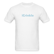 T-Shirts ~ Men's T-Shirt ~ iCrinkle - Lightweight T-Shirt White