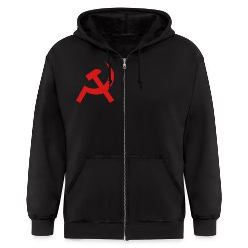Soviet hoodie - Men's Zip Hoodie