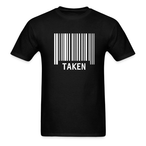 TAKEN GENERIC BAR CODE T-Shirt - Men's T-Shirt