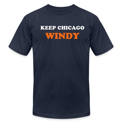 Her name is Windy... - Men's Fine Jersey T-Shirt