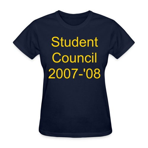 Women's  Student Council - Women's T-Shirt