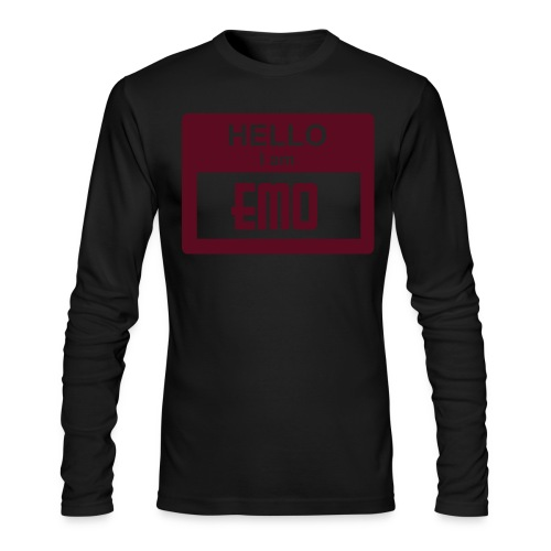 emo am i - Men's Long Sleeve T-Shirt by Next Level