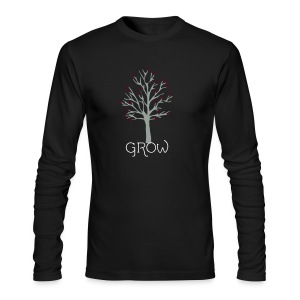 GROW - Men's Long Sleeve T-Shirt by Next Level