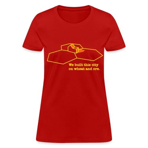 We Built This City - Women's T-Shirt