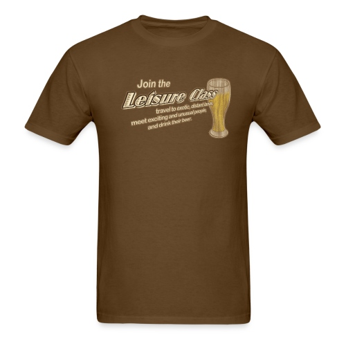 Join The Leisure Class - Men's T-Shirt