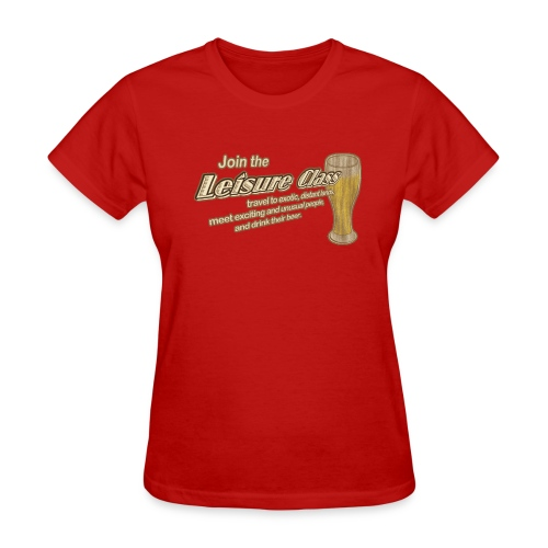 Join The Leisure Class - Women's T-Shirt