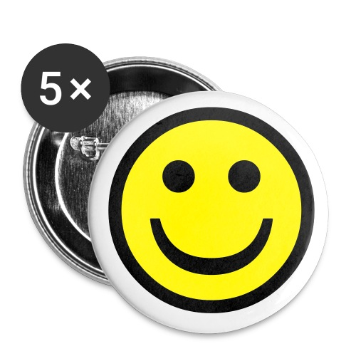 Retro Badge  - Buttons small 1'' (5-pack)