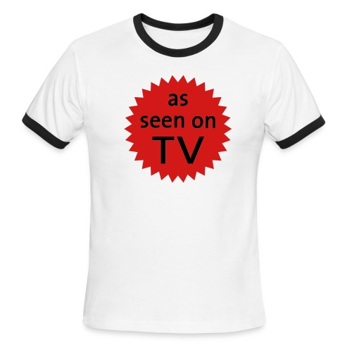 As Seen On TV - Men's Ringer T-Shirt