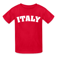 Kids' Shirts ~ Kids' T-Shirt ~ Kids Italy, Red