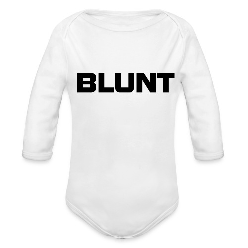 For babys! - Organic Long Sleeve Baby Bodysuit