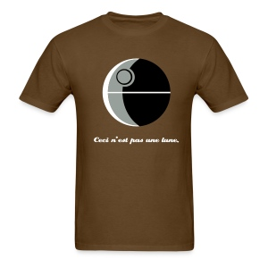 This is not a moon (The Treachery of the Empire) - Men's T-Shirt