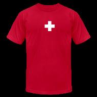 T-Shirts ~ Men's T-Shirt by American Apparel ~ ballstein Swiss