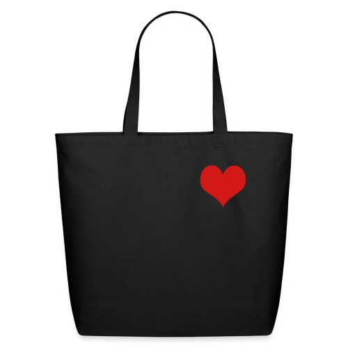 guard your heart bag - Eco-Friendly Cotton Tote
