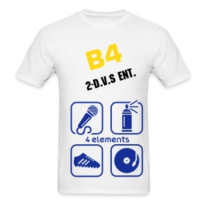 B4 /2-D.V.S Ent:4 Elements T Ver.1 - Men's T-Shirt